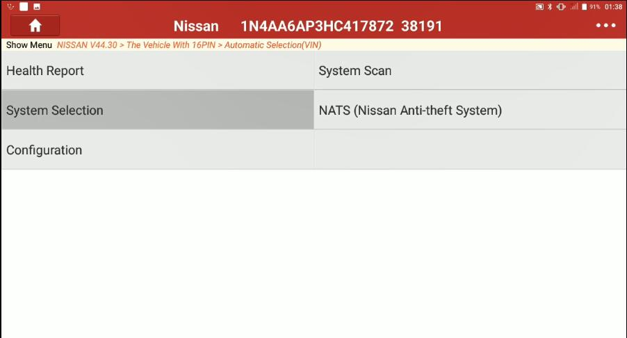 Change-Signature-Light-for-Nissan-Maxima-2017-by-Launch-X431-2