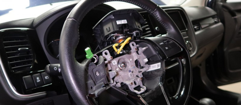 How-to-Remove-and-Replace-Steering-Column-Switch-on-a-Mitsubishi-Outlander-1