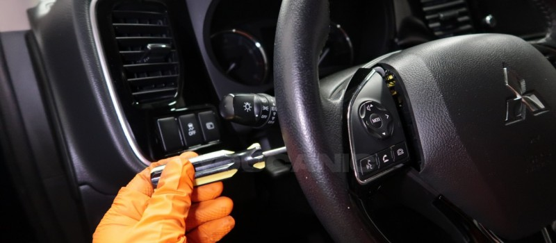 How-to-Remove-and-Replace-Steering-Column-Switch-on-a-Mitsubishi-Outlander-3