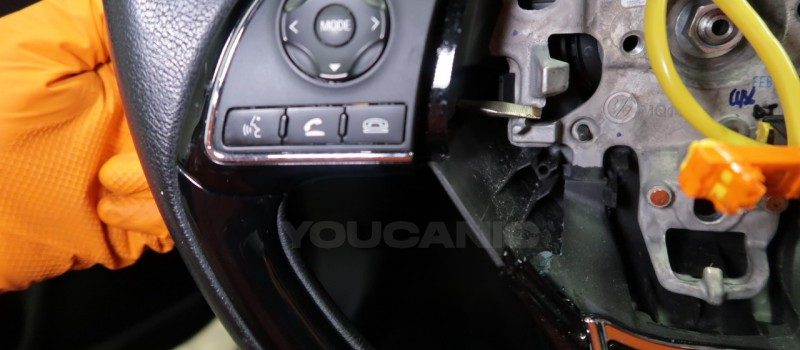 How-to-Remove-and-Replace-Steering-Column-Switch-on-a-Mitsubishi-Outlander-6